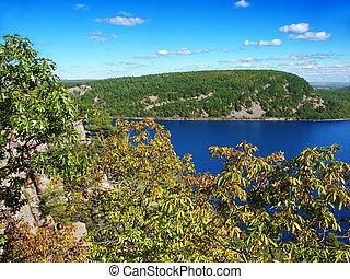 Devils Lake Landscape Wisconsin