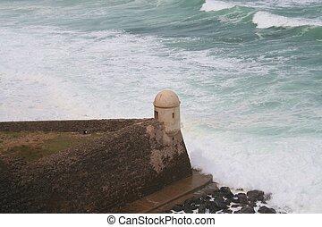 Devils Sentry Box at Old San Juan