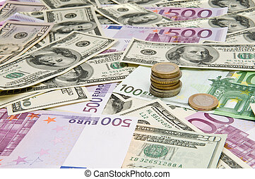 devises mélangées