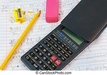 devoirs, math