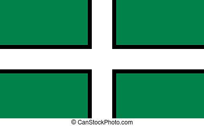 devon, bandiera