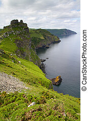 Devon coastal view