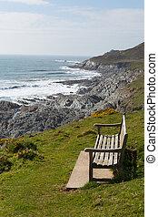 Devon South West Coast Path - South West Coast Path view...
