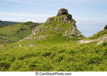 Devon Valley of the Rocks