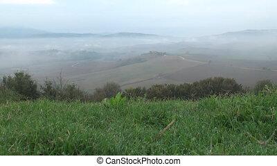 Dew over Tuscany