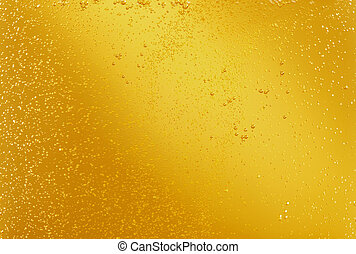 Dewy beer glass bottle texture - Gold beer in a glass ...
