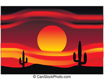 dezertál, napnyugta, noha, kaktusz, detektívek