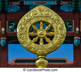 Dharmacakra or the Wheel of the Life - Dharmacakra or the...