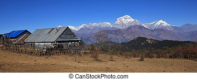 Dhaulagiri, seventh highest mountain of the world