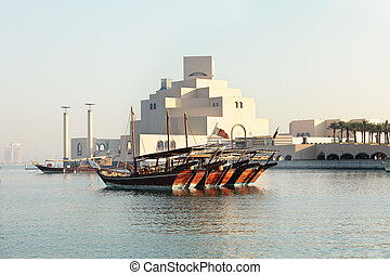 Dhows and museum