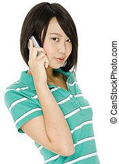 diák, telefon