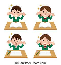 diákok, highly-motivated