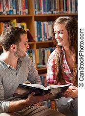 diákok, portré, könyv