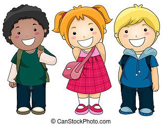 diákok