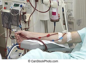 diálisis, asistencia médica, medicina, riñón