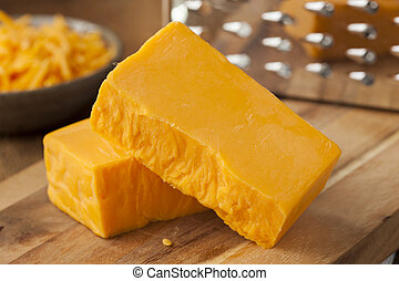 dièse, organique, fromage cheddar