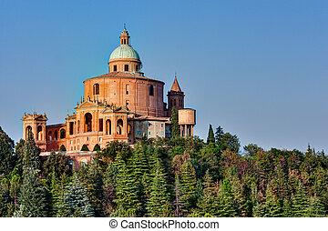 di, luca, santuario, san, italia, bolonia, madonna