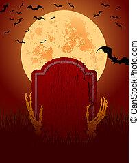 dia das bruxas, cartão
