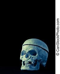 dia das bruxas, spooky, cranio, fundo