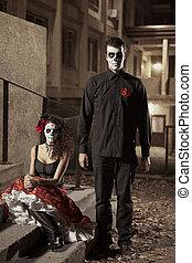 Dia de los Muerto Costume - Day of the dead