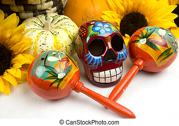 Dia De Los Muertos - Day of The Dead Alter - Day of the Dead...