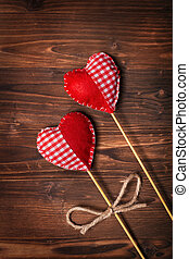 dia dos namorados, corações