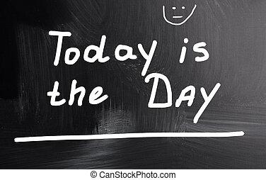 dia, hoje