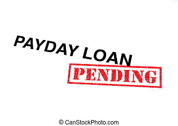 dia pagamento, empréstimo, pendente