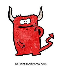 diabeł, rysunek