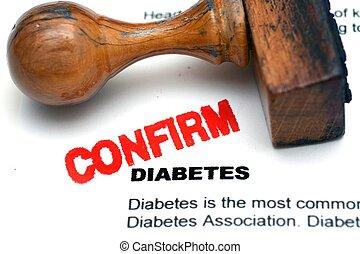 Diabetes confirm