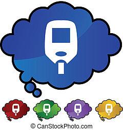 Diabetes Test Monitor