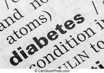 Diabetes Word Definition
