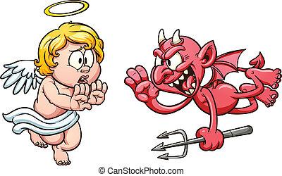 diable, ange