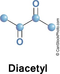 Diacetyl, or butanedione is an organic compound