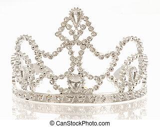 diadème, couronne, ou