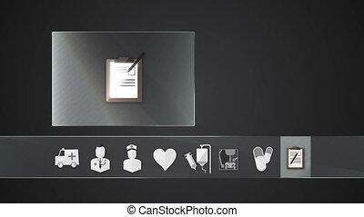 Diagnosis icon for Health Care