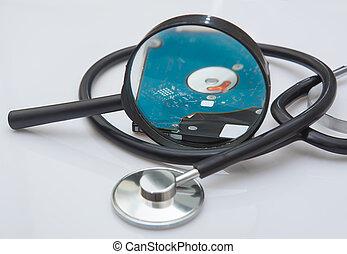 Diagnosis of external hard drive