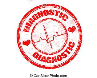 diagnostiske, frimærke