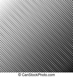 Diagonal abstract black striped background. Vector illustration