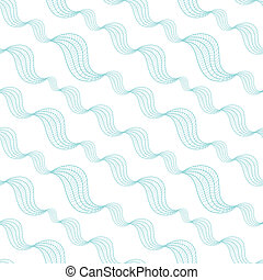Diagonal abstract waves seamless pattern background