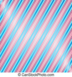 Diagonal Blue And Pink Striped Background