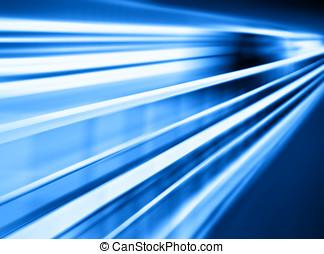 Diagonal blue motion blur transportation background