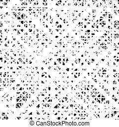 diagonal, cerca, textura