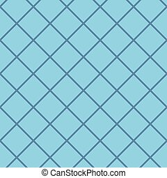 Diagonal checkered pattern of fine lines. Seamless vector...