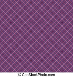 Diagonal checkered pattern of fine lines. Vector...