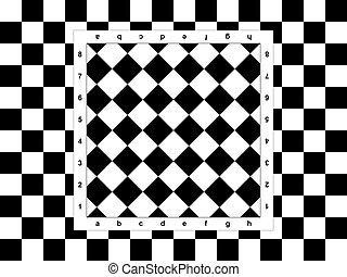 Diagonal chessboard
