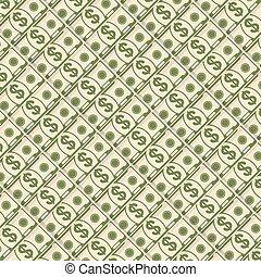 diagonal, geld, hintergrund