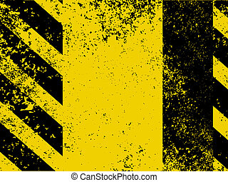Diagonal hazard stripes texture. EPS 8