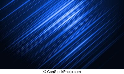 Diagonal Lines 3 - Blue diagonal lines gently pulsate and...