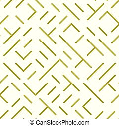 Diagonal lines and shapes seamless pattern, repeat...